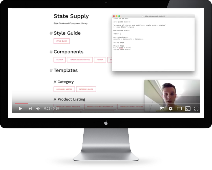 State Supply Screencast